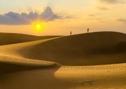 sand dunes on Gran Canaria
