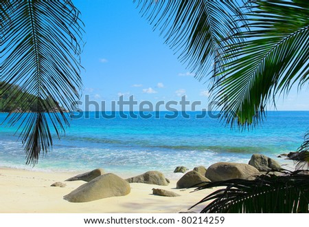 Sand Heaven Beach - stock photo