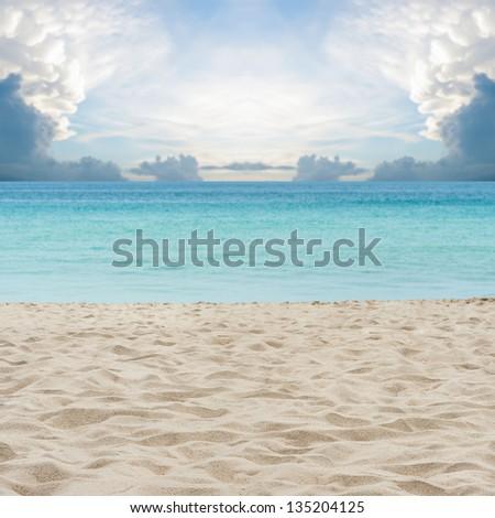 sand of beach Thailand sea #135204125