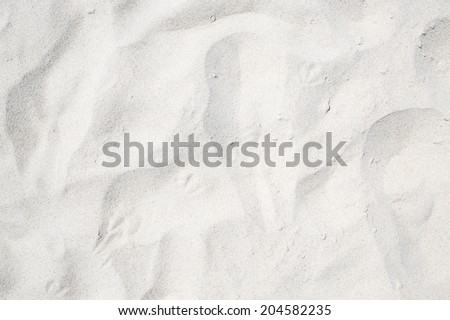 Sand on the the beach as background