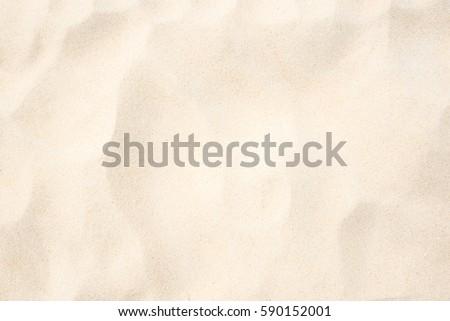 sand on the the beach as...