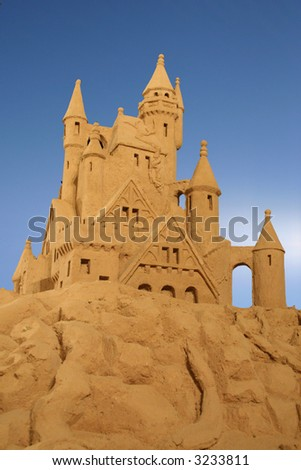 Sand Palace - stock photo