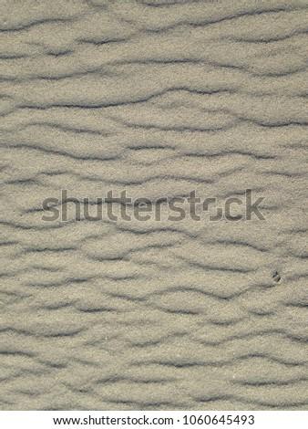 Sand Ripples, sand texture #1060645493