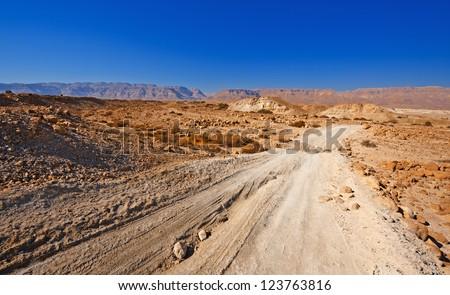 Sand Road in the Judean Desert