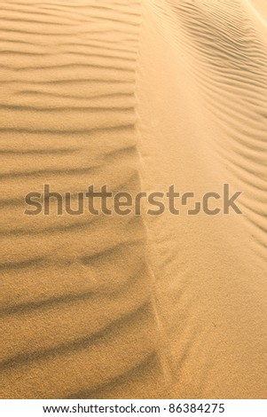 Sand-structures