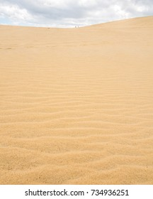 Stock photo of the sand texture
