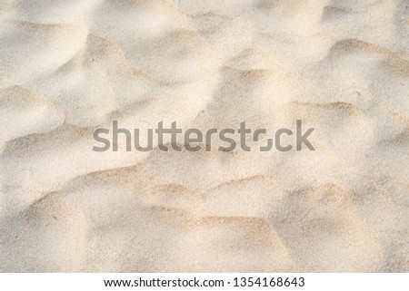 Sand texture background, natural sand at the beach close up.