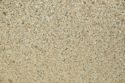 Sand texture background, Small shells Broken coral , natural sand at the beach close up. Shells of many types and sizes are found on our shelling beaches. at the sunset and warm tone.