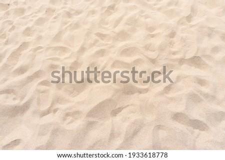 Sand texture background. Top view ストックフォト ©
