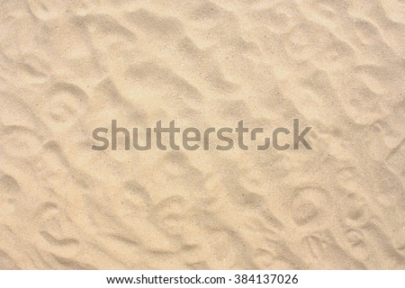 Sand Texture. Brown sand. Background from fine sand. Sand background #384137026