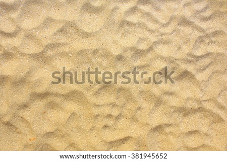 Stock Photo Sand texture. Sandy beach for background. Top view