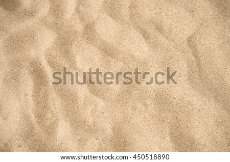 Sand texture top view