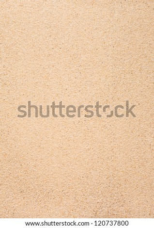 Sand used as a background