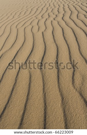 Sand Waves Desert Abstract background texture