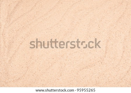 Sand waves used as a background