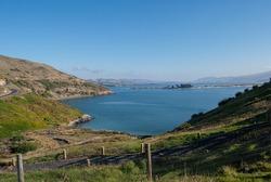Sandfly bay lookout in Dunedin peninsula