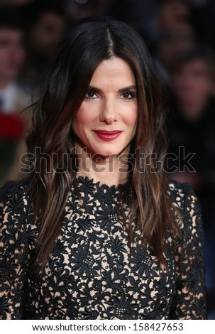 Sandra Bullock arriving for the Gravity Premiere, at the BFI London Film Festival 2013, Odeon Leicester Square, London. 10/10/2013