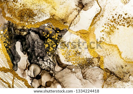 Sands wilderness- ART. Golden swirl. Vibrant and breathtaking art medium. Painter uses vibrant paints to create these dreamy art, with addition golden glitters, lines. Masterpiece of designing art.