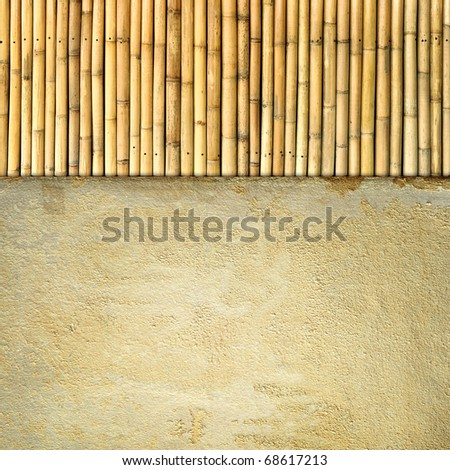 sandstone and bamboo texture