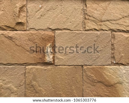sandstone wall texture background.
