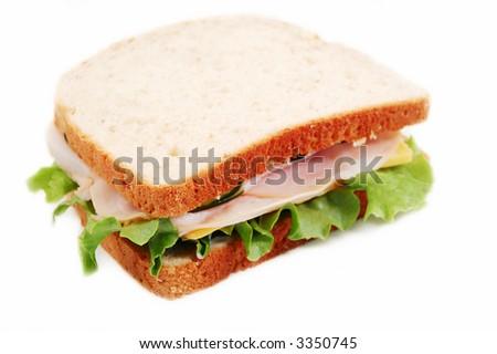 Sandwich on Wheat