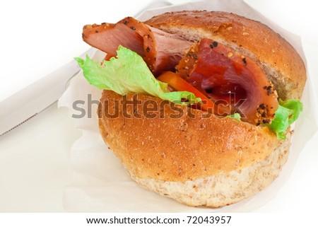 Sandwich Side View