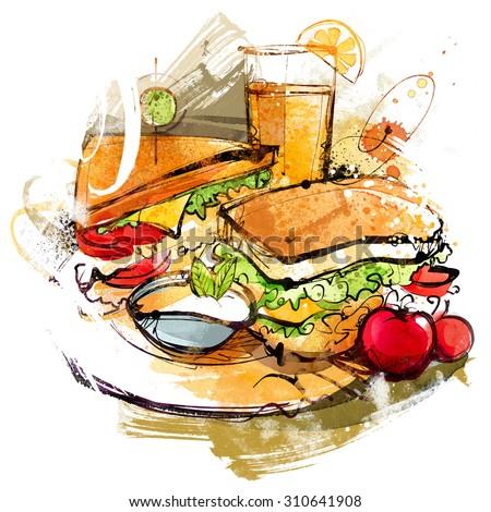 Sandwiches Set