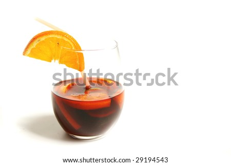 Sangria glass