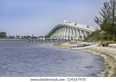 Sanibel Causeway And Bridge in Southwest Florida