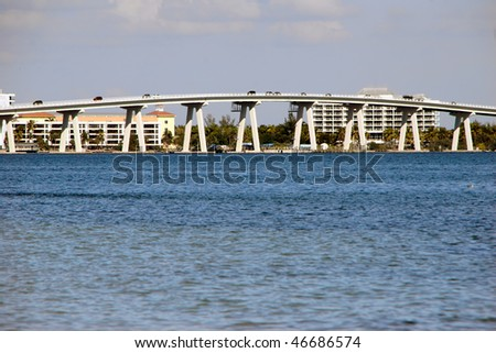 Sanibel Causeway And Bridge Southwest Florida Afternoon