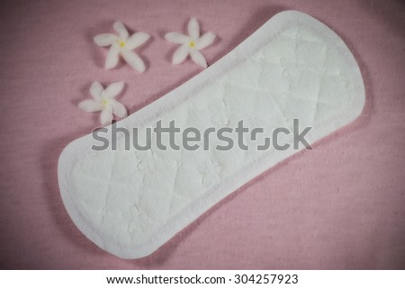 Sanitary pad package for woman hygiene protection