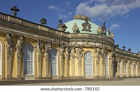 Sans Souci Palace, Potsdam, Berlin, Germany