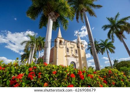 Santa Ana church, Merida, Mexico