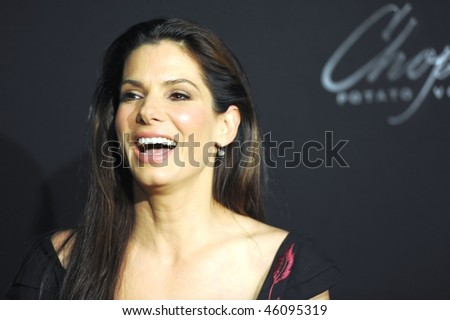 SANTA BARBARA, CA - FEB 5: Academy Award winner Sandra Bullock at the America Riviera Award during the 25th Santa Barbara Int'l Film Festival Feb 5, 2010 in Santa Barbara, CA.