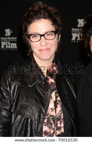 SANTA BARBARA - JAN 28:  Lisa Cholodenko  arrives at  the American Riviera Award Presentation at the SBIFF at Arlington Theater on January 28, 2011 in Santa Barbara, CA