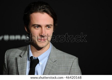 "SANTA BARBRA, CA - FEB 6: Actor Reece Thompson, from ""Provinces of Night"",at the Lucky Brand Modern Master award at the Santa Barbara Film Festival, Feb 6, 2010 in Santa Barbara, CA."