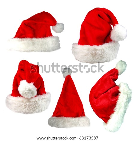 Santa cap collection