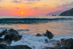 Santa Catalina Island Seascape California