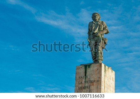 Shutterstock Santa Clara, Cuba-December 10,2017: Che Guevara memorial during the day. The place is a famous place and a major tourist attraction in the capital city of the province of Villa Clara