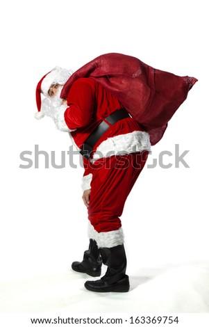santa claus - Shutterstock ID 163369754