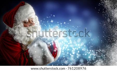 Santa Claus and magic night