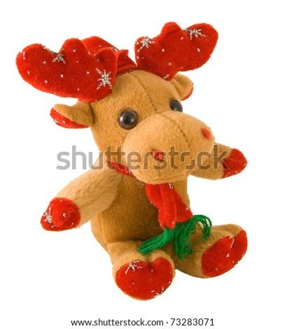 Santa claus deer - toy - christmas decoration