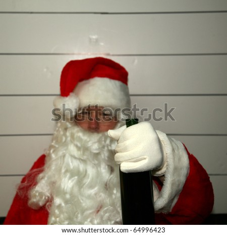 "Santa Claus gets a DUI ""driving while intoxicated"""