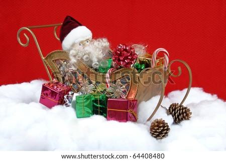 Santa Clause Christmas Arrangement