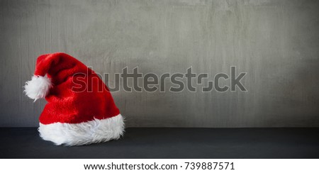 Santa Hat, Copy Space For Advertisement