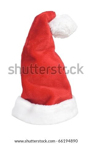 Santa Hat on a white background