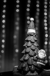 Santa Klaus on the tree