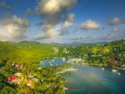 Santa Lucia - Marigot Bay - Caribbean sea's island