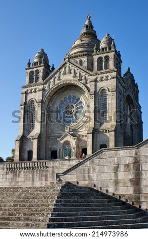Santa Luzia church in Viana do Castelo