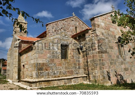 Santa Maria das Areas church